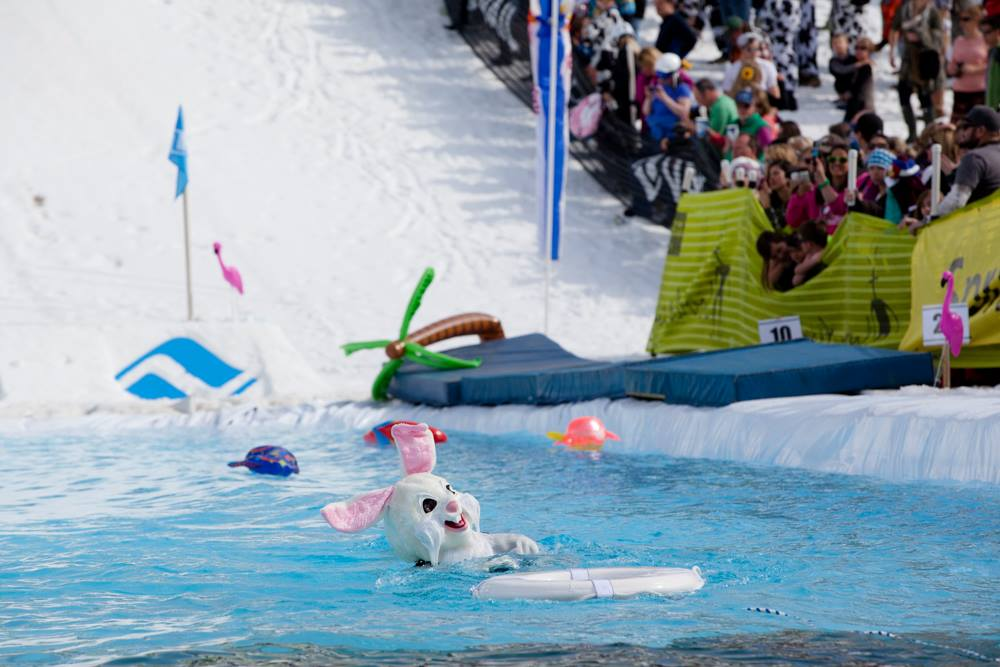 Vail 13th annual Pond Skimming World Championships
